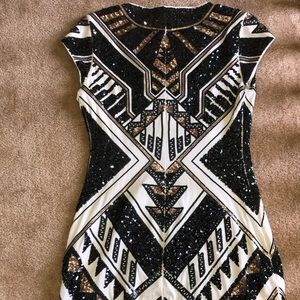 Beautiful express beaded dress